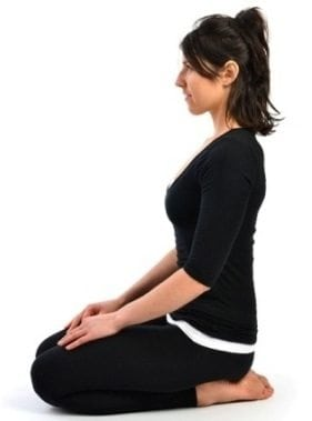 vajrasana thunderbolt pose steps cautions benefits