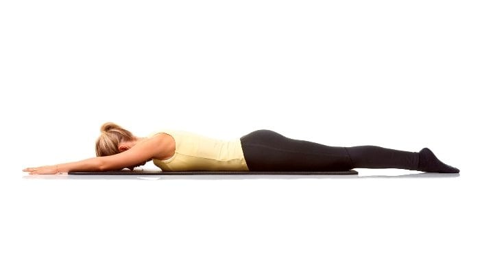 Advasana (Reverse Corpse Pose) meaning, steps, precautions and benefits