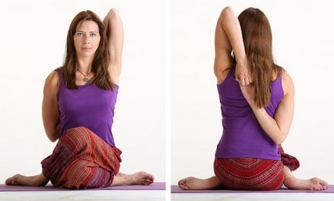 the way you connect with your body while you practice yoga