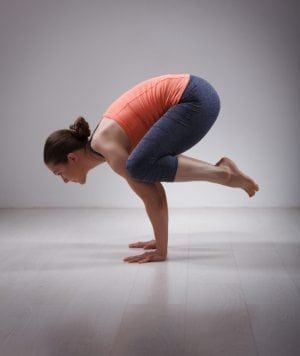 Bakasana (Crow Pose) steps, benefits and precautions