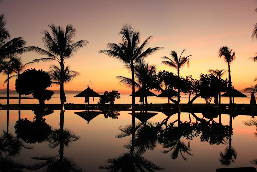 Bali health retreat packages - Bali sunset view